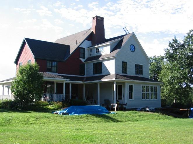 interesting Farmhouse Addition house Pinterest