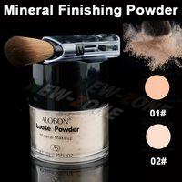 Cara Bare 12 horas Mineral Maquillaje Acabado Polvos Sueltos Aclare Sheer Base Maquillaje Maquillaje Fix sudor Oil Control Prueba