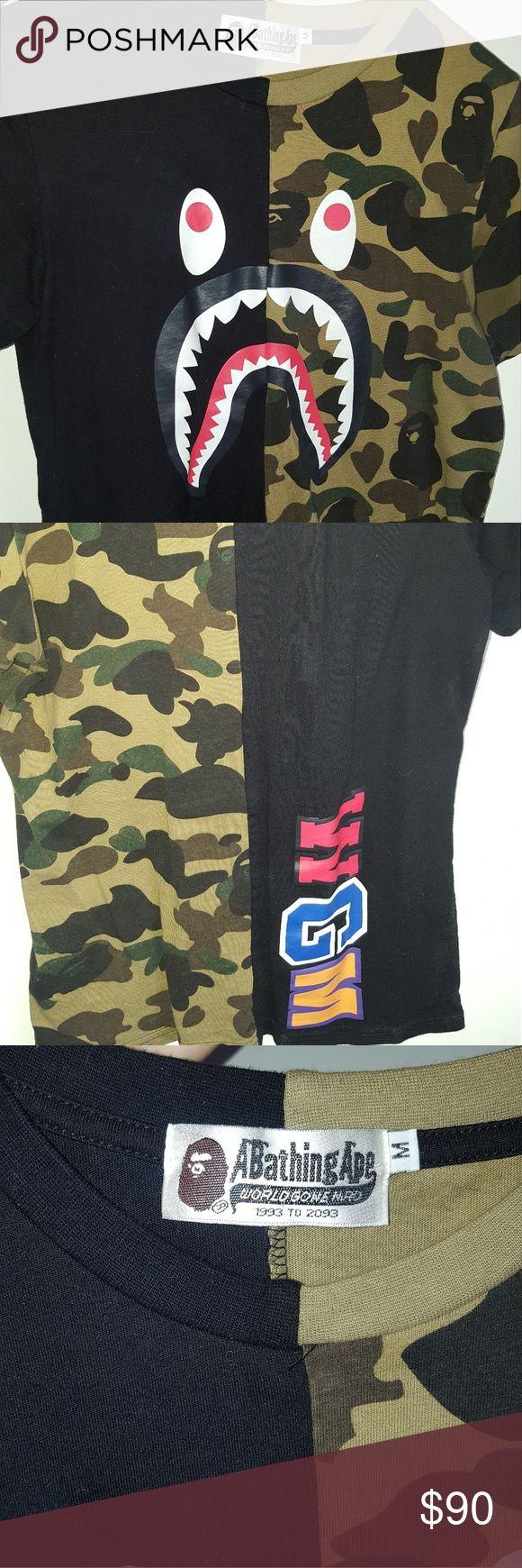 Bape Shirt Comes with Bag bape Shirts Tees - Short Sleeve