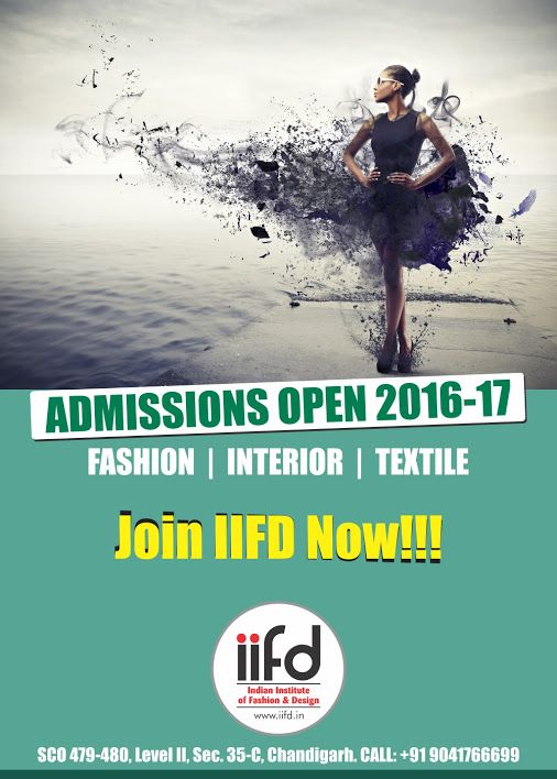 Admission Started in Fashion Design Institute. Join IIFD. Fill online application form @ http://iifd.in For more assistance contact @9041766699 #iifd #chandigarh #best #fashion #designing #institute #chandigarh #mohali #punjab #design #admission #india