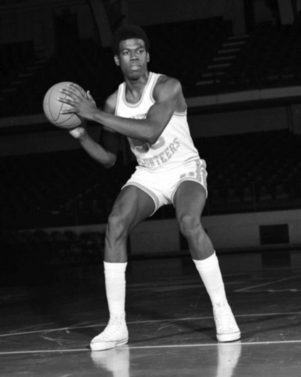 University of Tennessee basketball player Bernard King is pictured in the 1970s at Stokely Athletic Center.  (University of Tennessee)