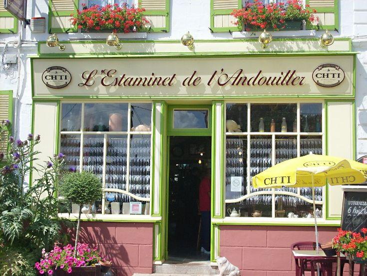 Estaminets flamands : Estaminet de l'andouiller à Douriez.