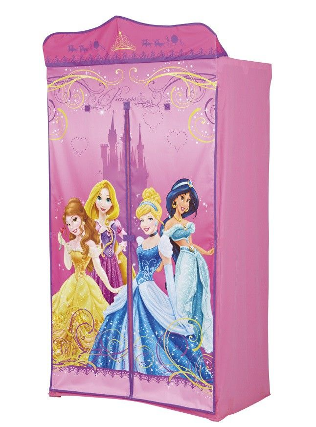 penderie enfant en tissu disney princesses penderie fonctionnelle et d corative. Black Bedroom Furniture Sets. Home Design Ideas