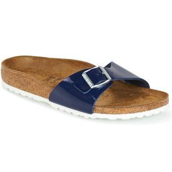 Topánky Ženy Šľapky Birkenstock MADRID Modrá