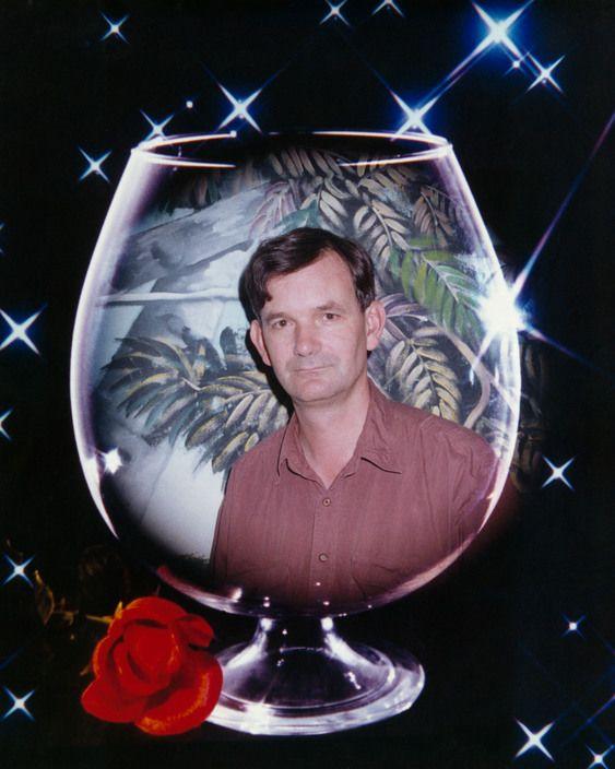 Martin Parr, auto-portrait, 1997