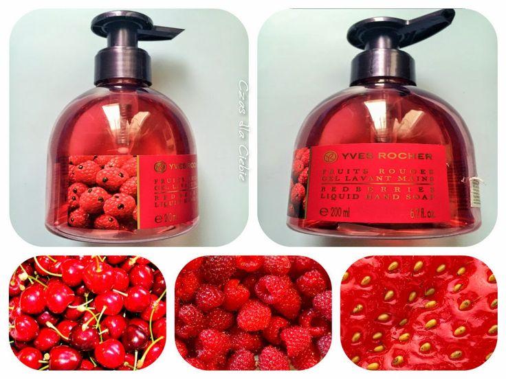 Czas dla Ciebie: Żel do mycia rąk Czerwone owoce