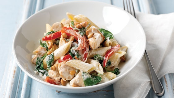 Creamy Mediterranean Pasta Salad, Kraft Philadelphia Recipe of the ...