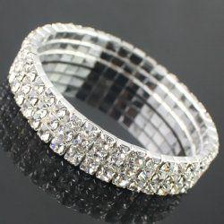 bracelet de diamants de la mode de drainage