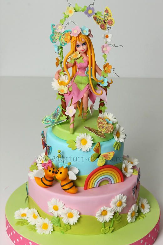 Spring Fairy. https://www.facebook.com/Vioricascakes http://www.viorica-torturi.ro/ http://www.torturi-de-vis.ro/