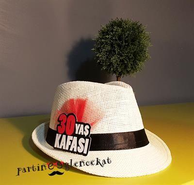 Mesajlı Parti Şapkası