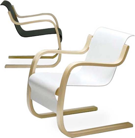 Alvar Aalto chairs