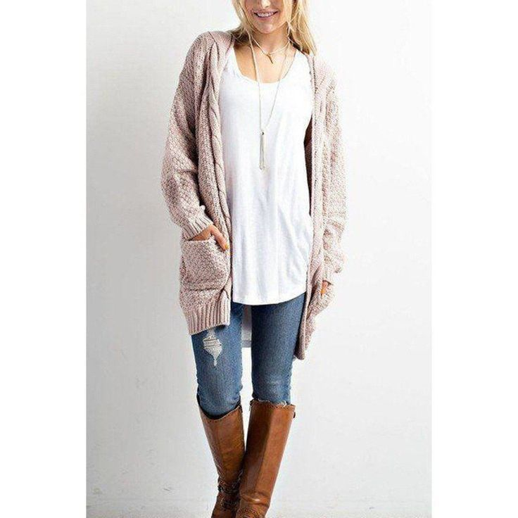Layer up with this super comfy and flattering cardigan