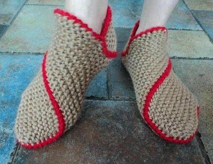 les pantoufles en laine rigolottes