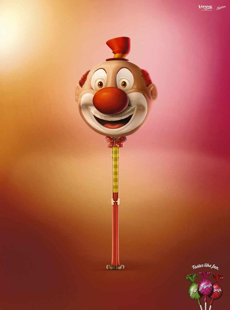 BaBoom Lollipop Candy Ad