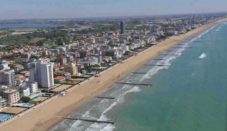 Resort town of Lido di Jesolo.