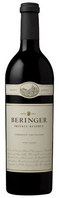 Beringer Private Reserve Cabernet Sauvignon. For over thirty years, the Private Reserve wines have offered the best that the Napa Valley has to offer