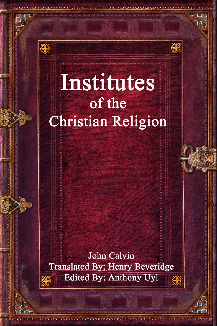 The book that was the basis of the Reformed tradition in Christian belief this book is a strong Biblical position for any theological scholar.