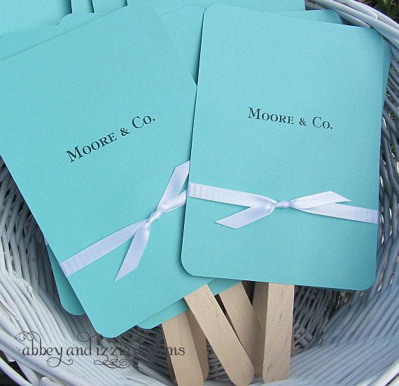 Wedding Favors Aqua Blue Party Lottery Ticket Favor Cd Holders For Tiffany