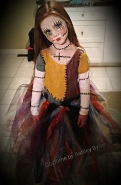 nightmare before christmas sally natural red hair costume - Google Search