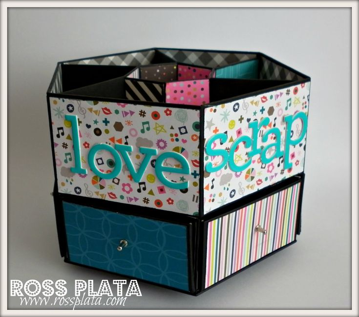 17 best images about 3d origami on pinterest newspaper - Origami desk organizer ...