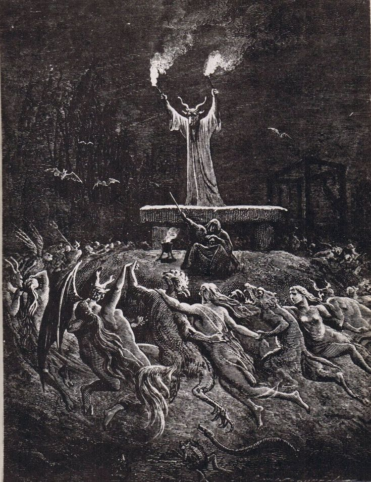 Gustave Doré: Welcome to another Sabbath: