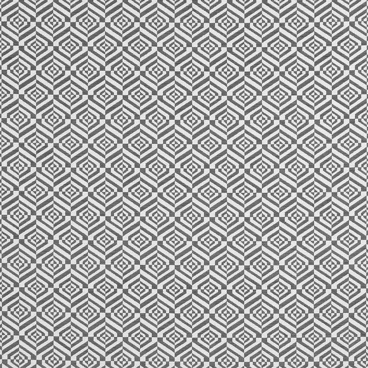 Warwick Fabrics : LUDO CHROME