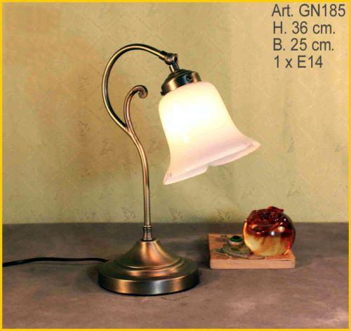 Jugendstil Tisch Lampe Tischlampe Buerolampe Preiswert Wohnzimmerlampe GN185GE EUR