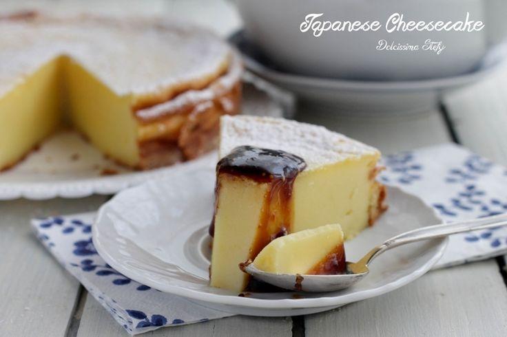 Un dolce dalla consistenza particolare diversa dalla classica torta al formaggio. Avete mai provato a fare la Cheesecake Giapponese golosissima ?