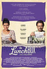 The Lunchbox - A mistaken delivery in Mumbai's famously efficient lunchbox delivery system connects a young housewife to an older man in the dusk of his life as they build a fantasy world together through notes in the lunchbox.