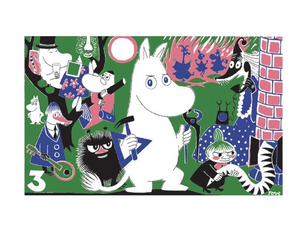 Moomin - beloved Finnish children's book character