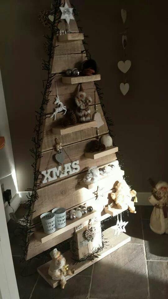 kerstboom hout holz christbaum pinterest tannenbaum. Black Bedroom Furniture Sets. Home Design Ideas