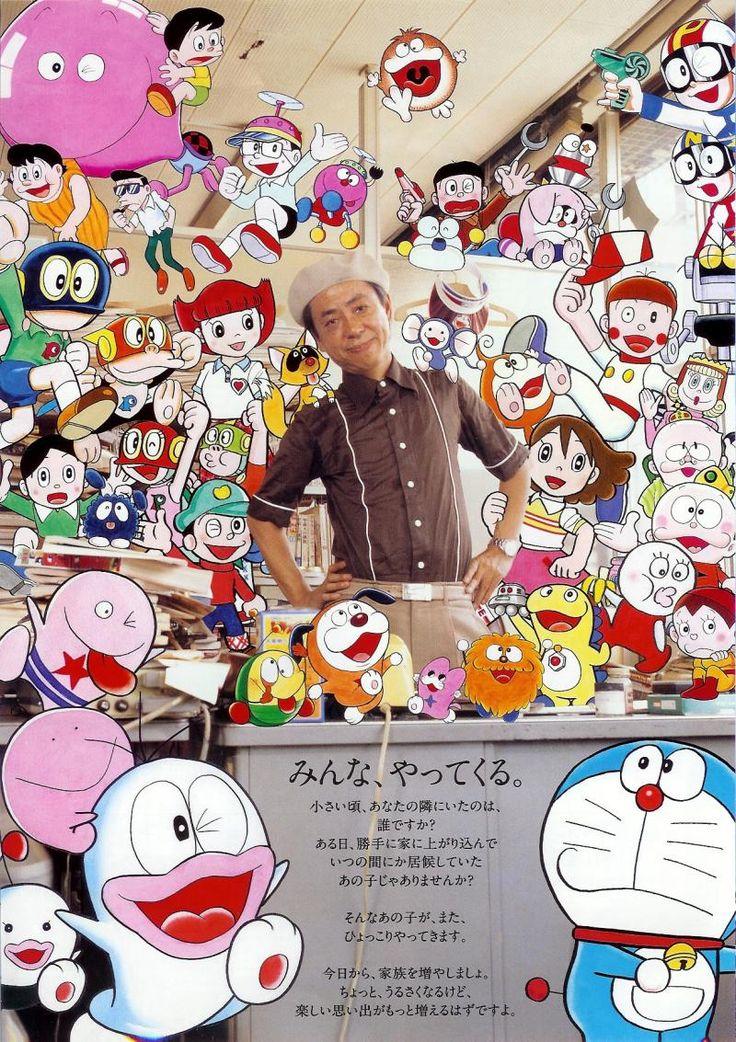 gkojaxmeetsrebloggersuptown: classics: lookalikelike: kagami: 藤子・F・不二雄 (Fujiko F. Fujio)(via saitamanodoruji)