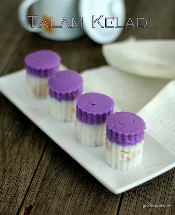 Bisous À Toi: Kuih Talam Keladi...not to sure about these but they look good!