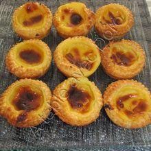 Pastéis de Belèm ou petits flans pâtissiers