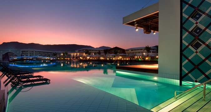 Luxury meets relaxation at the lavish pool at #Hilton Dalaman Resort and Spa in Turkey.
