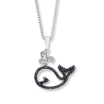 Whale, whale, whale…We now have a new favorite necklace for summer.