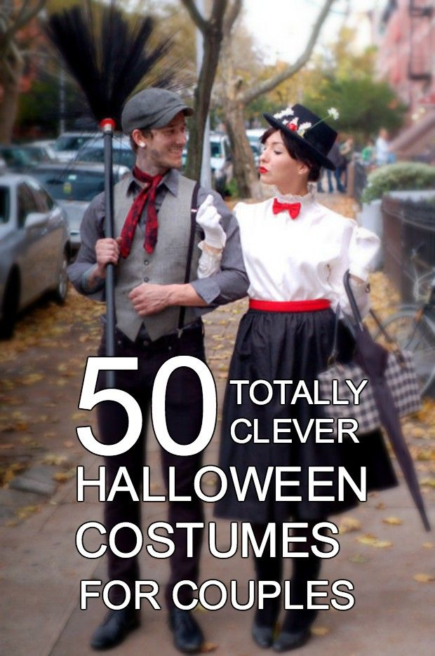 Great Halloween costume ideas for couples! #halloween #halloweencostumes
