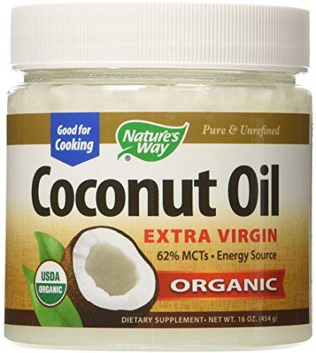 Nature's Way Extra Virgin Organic Coconut Oil, 16 oz.