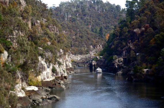 Cataract Gorge. Launceston,Tasmania, Australia