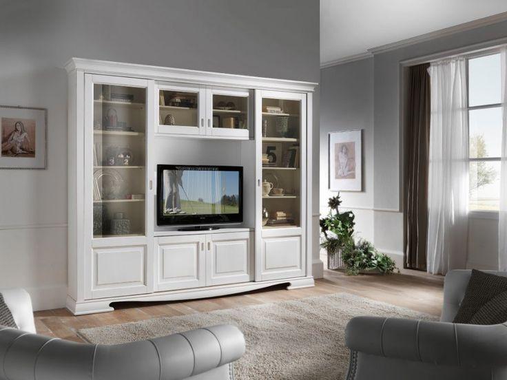 Tendenze Collection - Living Room Design Biblioteca din lemn masiv
