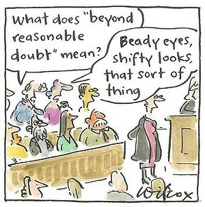 Having recently served, here's a Report that says Jurors need more direction which I agree with - It is a pinnacle of the adversarial system of #justice that governs #criminal trials in this country, but most jurors asked to determine a person's fate struggle to understand what ''beyond reasonable doubt'' means - so true. A NSW Law Reform Commission review of the directions judges give to juries finds they are not working, are outdated, overly complex & need to be clearer
