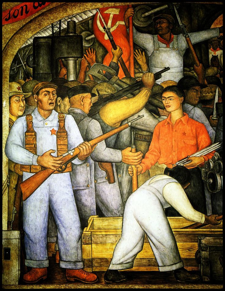 60 best diego rivera images on pinterest frida kahlo for Diego rivera creation mural