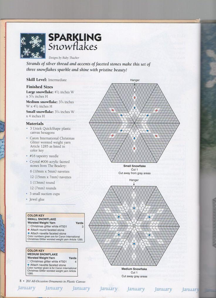sparkling snowflakes 1 pc ornaments pinterest