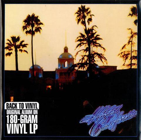 Eagles Hotel California Vinyl LP