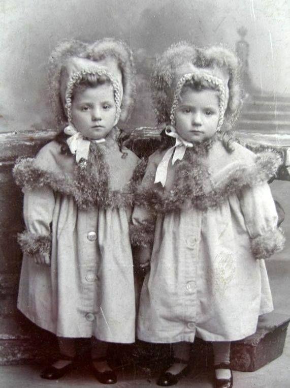Vintage twins ...