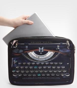 Old School: Ted Baker Typewriter Laptop Sleeve