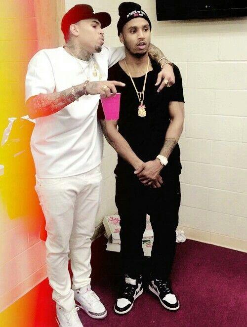 Chris Brown & Trey Songz <3