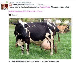 #LunesTetas: Monstruos con tetas