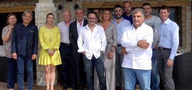 L'ensemble des adhérents du Cercle des grandes maisons corses, ont reconduit leur président César Filippi, lors de leur assemblée générale au Belvédère, à Porto-Vecchio.