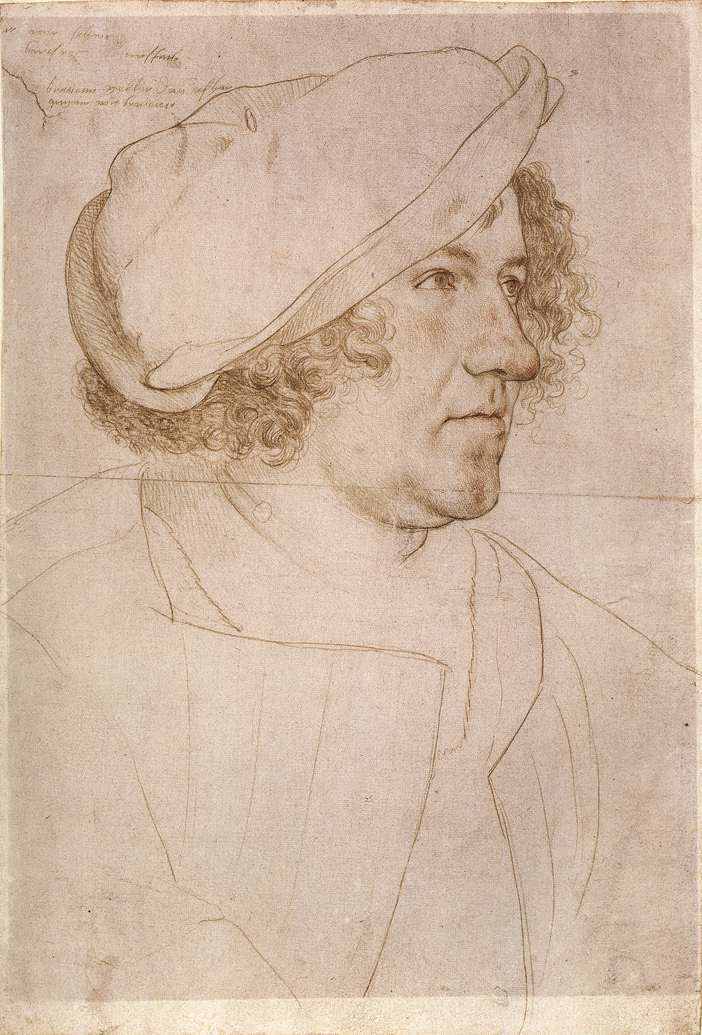 """""""Jakob Meyer zum Hasen"""" by Hans Holbein the Younger"""